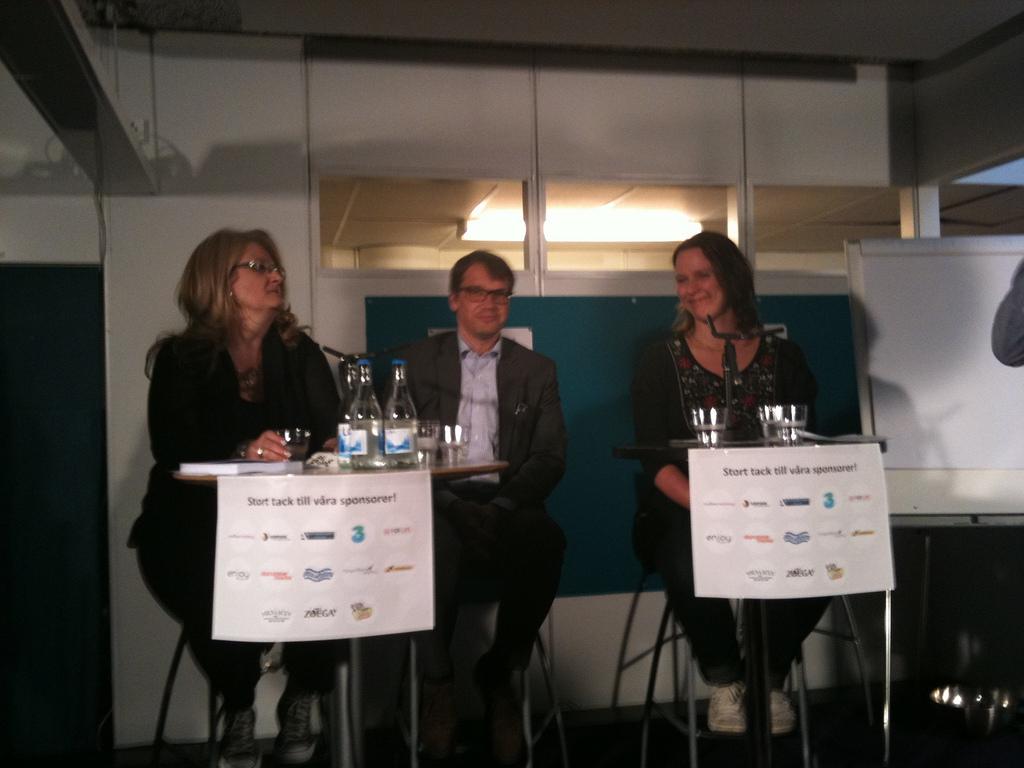 Brit Stakston, Göran Hägglund, Mona Wallin