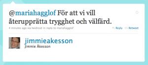 Svar från Jimmie Åkesson