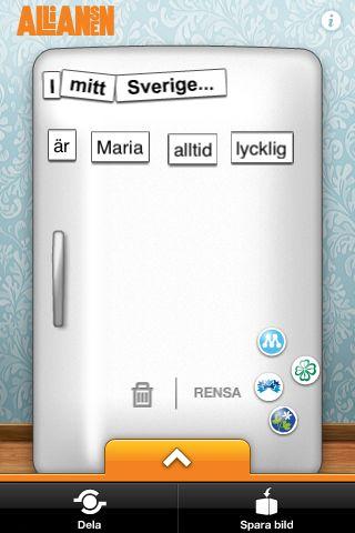 Alliansens app
